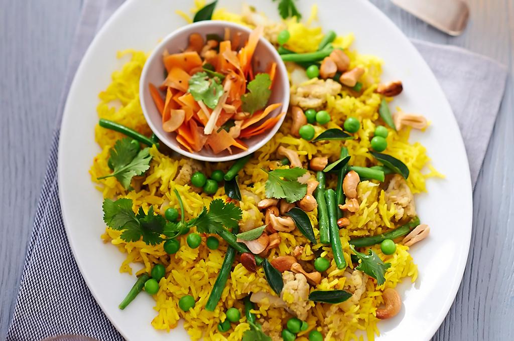 arroz vegano