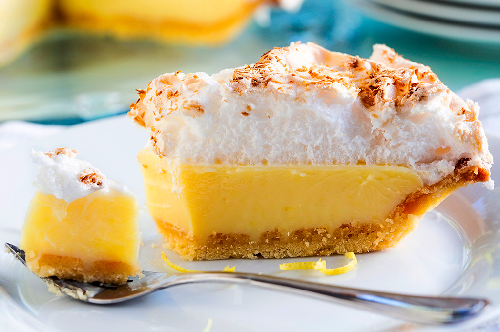 pie de limón con merengue
