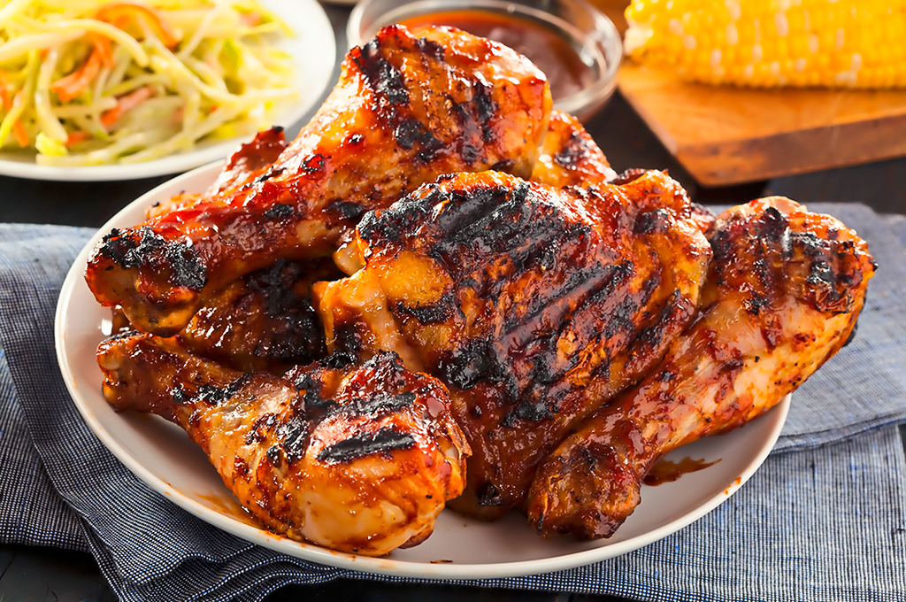 pollo grillado mediterráneo