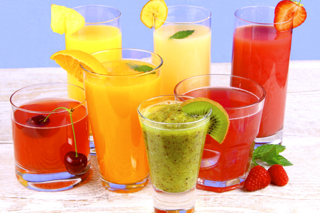 variedad de jugos