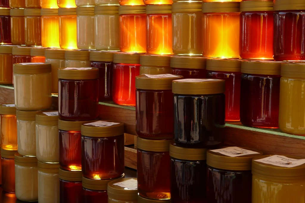 variedad de miel
