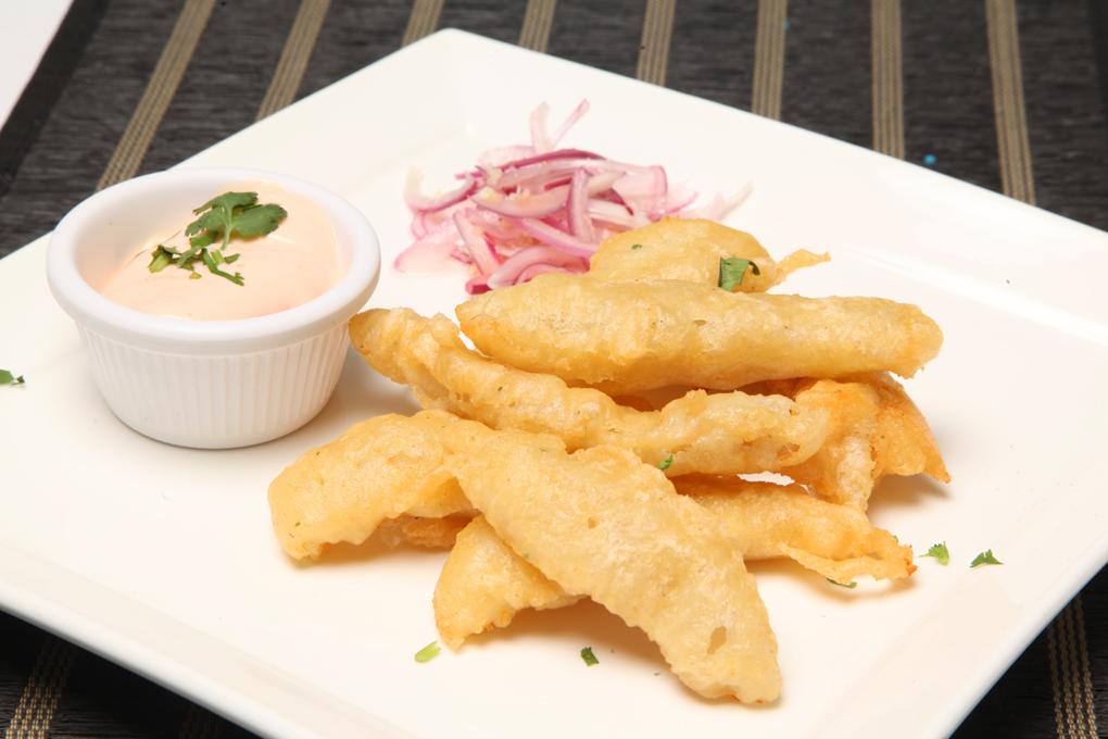 Caracol tempura