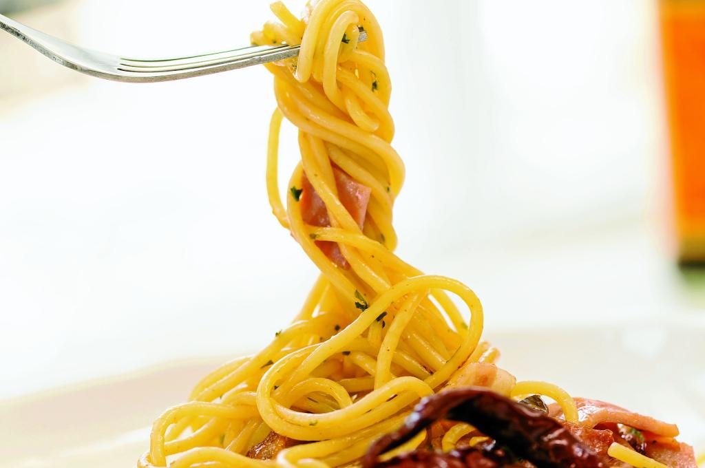 Espagueti con peperoncino