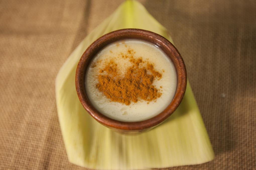 Rico atol elaborado a base de maíz.
