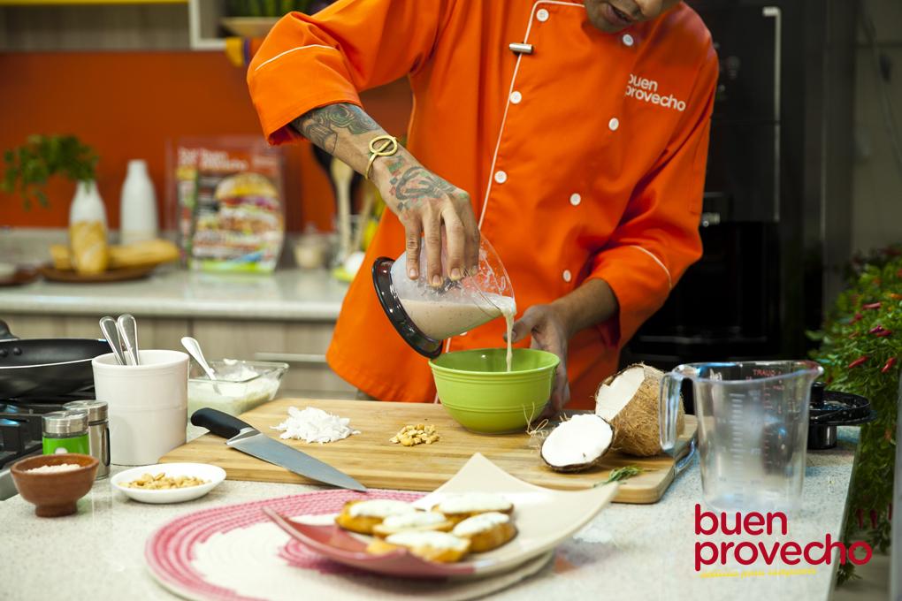 Es una práctica y saludable receta el pinol le da un sabor inigualable.