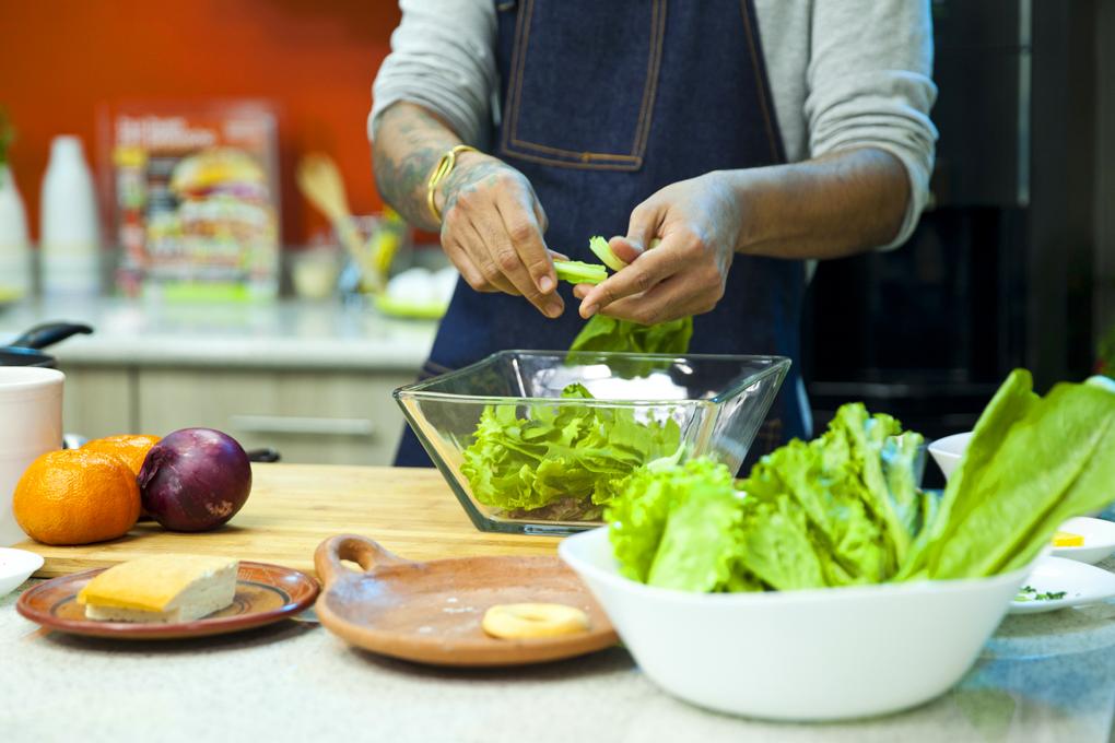 Procura utilizar siempre ingredientes frescos y sanos
