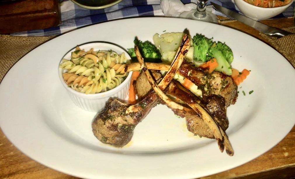 Exquisita comida gourmet del restaurante El Manzano.