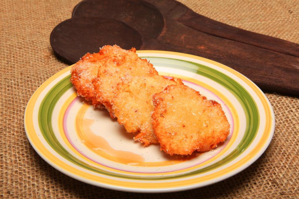 Fritas de yuca que puedes comer ya sean dulces o saladas.