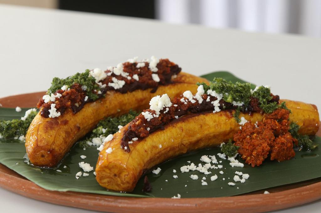 Canoas de plátano rellenas - Buen Provecho - Las mejores recetas de cocina