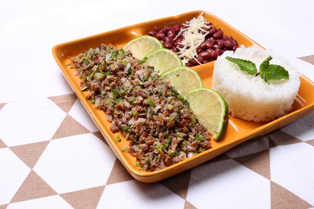 El salpicón es uno de los platillos insignia de Comayagua y la fusión de sabores deliciosa.