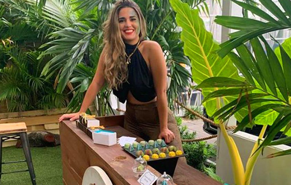 Michelle Mejia joven hondureña que brilla en Miami.