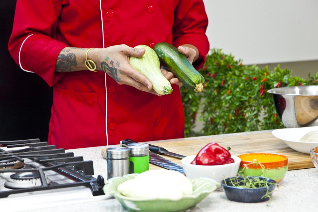 Barquitos de zucchini y pollo 2