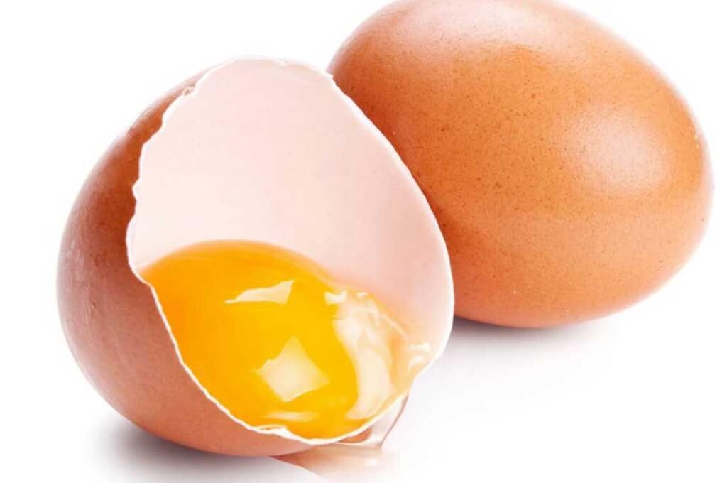 clara o yema de huevo