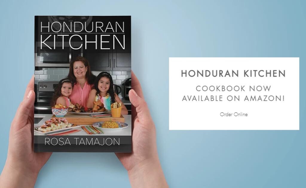 Hondureña lanza libro de recetas y esta triunfando en la cocina estadounidense